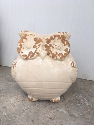 Cute Ceramic Owl Ornament