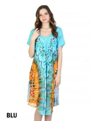 Tie Dyed Summer Dress