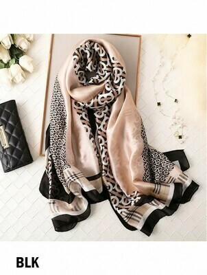 604-20-1240 SF1687 Burberry Style Scarf R40