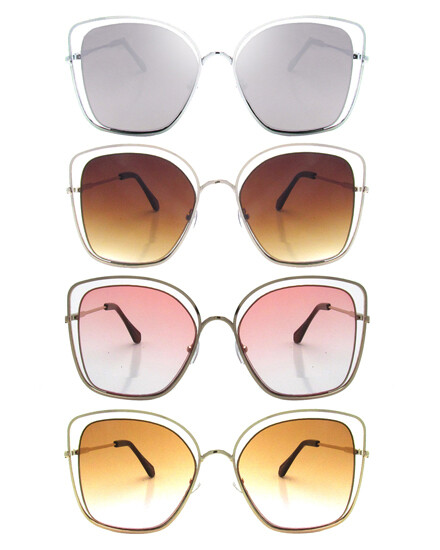 Oversize Designer Sunglasses 620-114-572084