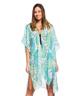 Fruit Print Kimono Shrug Cover 582313 390-114-940