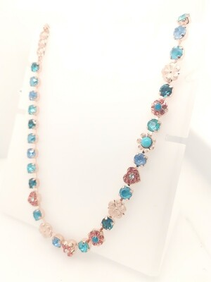 Mariana Teal Mix RG Necklace