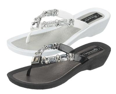 Bling Sandals in Black or White 520-119-25392