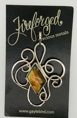 Forged Precious Medal Labradorite