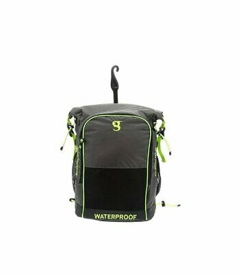 geckobrands Waterproof Dueler All Sports Backpack 32L Grey/Bright Green