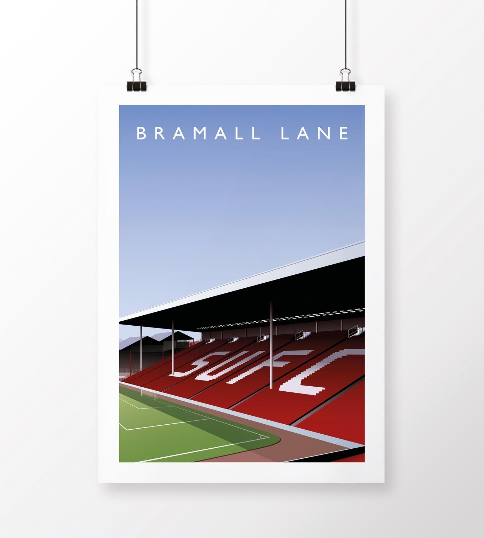 Bramall Lane Poster