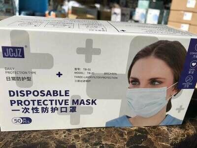 JCJZ Disposable Protective Mask, MOQ 100,000