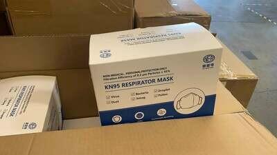 CTT KN95 Mask Wholesale, MOQ 100,000
