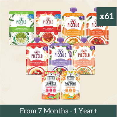 61x Baby Meals from 7 months to 1+ Year