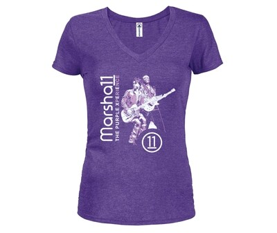 Purple Marsha11 & PX Ladies' Tee
