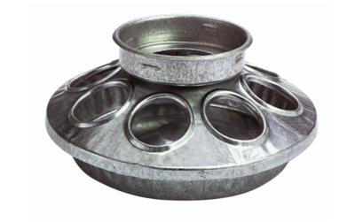 Metal Feeder Base for chicks