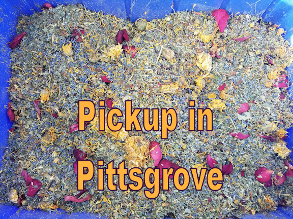 Original Coop Enhancer and Pest Deterrent.  A mixture of 20+ Herbs.  Picking up at Farm or Shop in Pittsgrove.