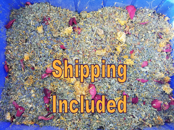 Original Coop Enhancer and Pest Deterrent.  A mixture of 20+ Herbs.  Shipping via USPS Included