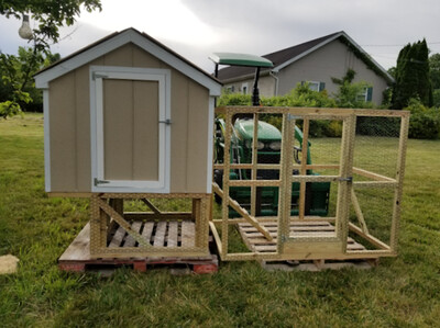 Chicken Coop and Run.