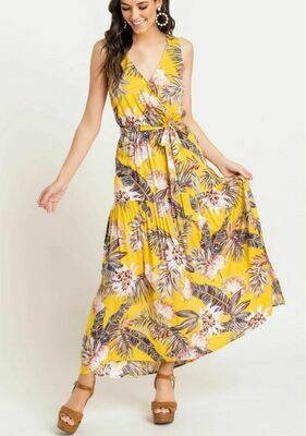 Tropical Tiered Maxi