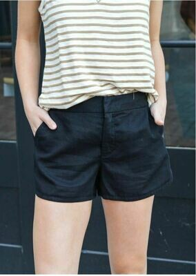 Black Helen Shorts
