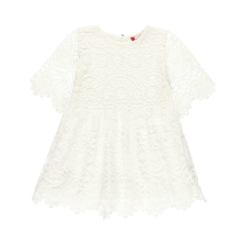 Vestido guipure de niña  BOBOLI