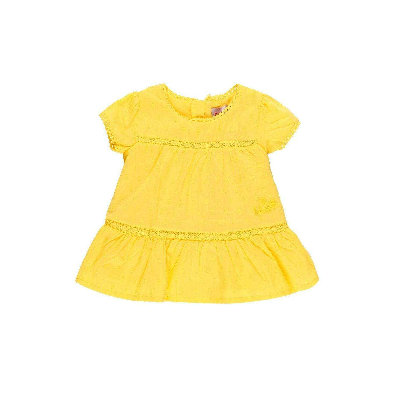 Vestido voile plumeti de bebé niña  BOBOLI