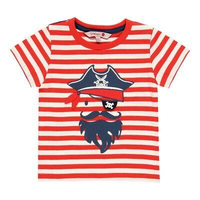 Camiseta punto liso de bebé niño  BOBOLI