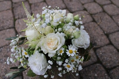 Blumenstrauss weiss