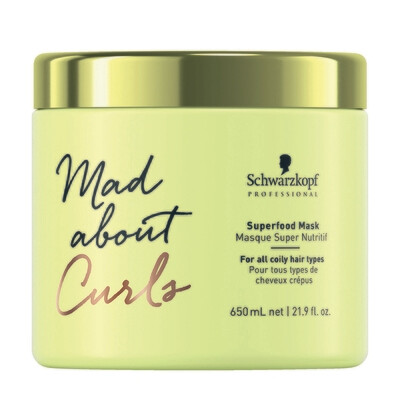 Mad About Curls Superfood Rinse-off Mask