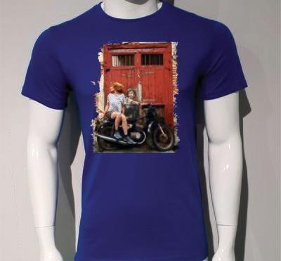 Camiseta Vintage Moto