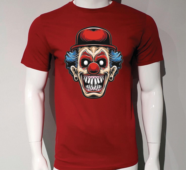 Camiseta Payaso Aterrador