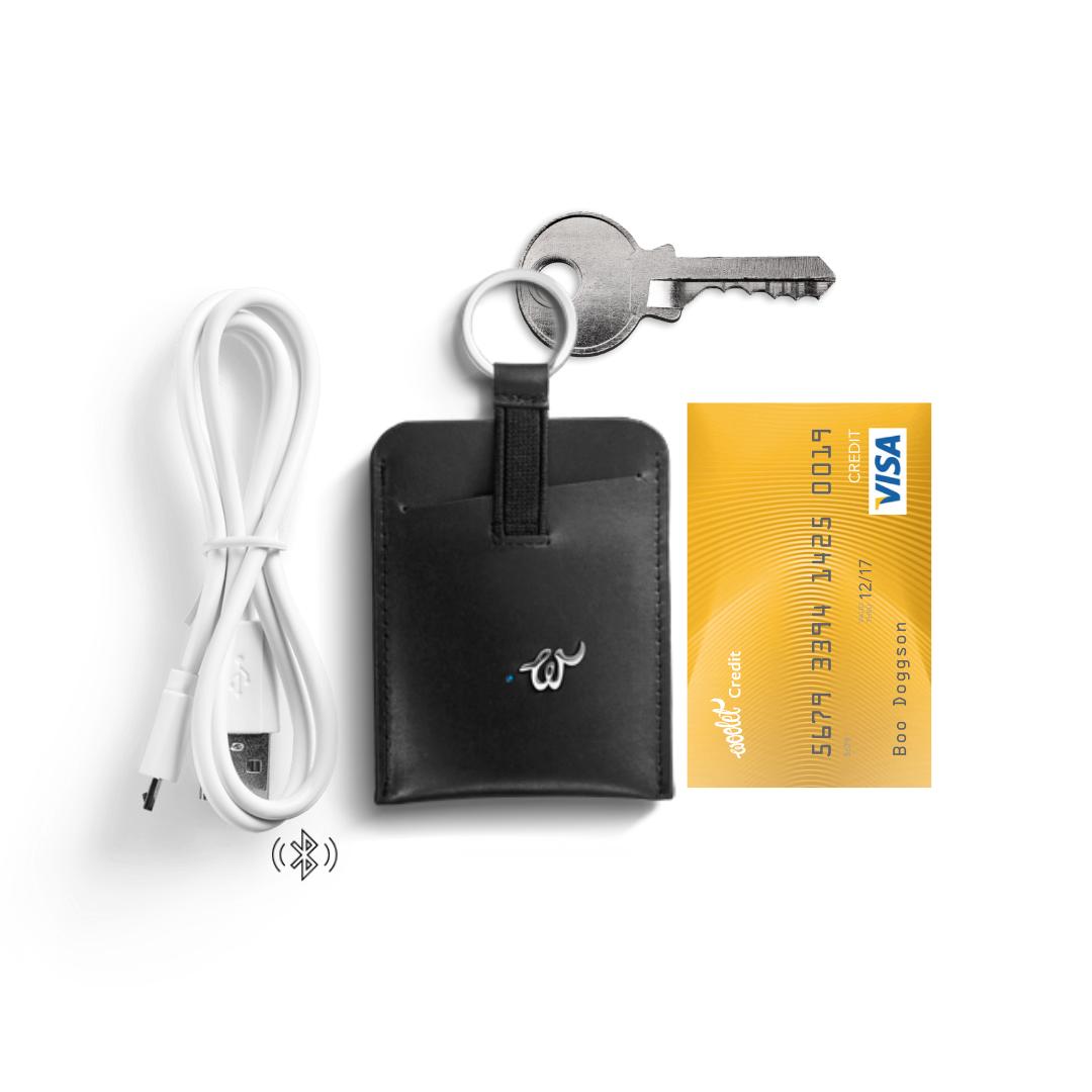 Smart key and card organizer