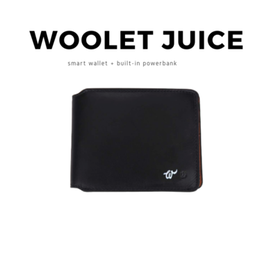 Woolet JUICE Bifold + BUILT-IN POWERBANK