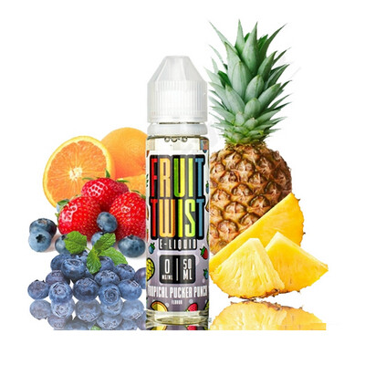 Twist Tropical Pucker Punch 6nic