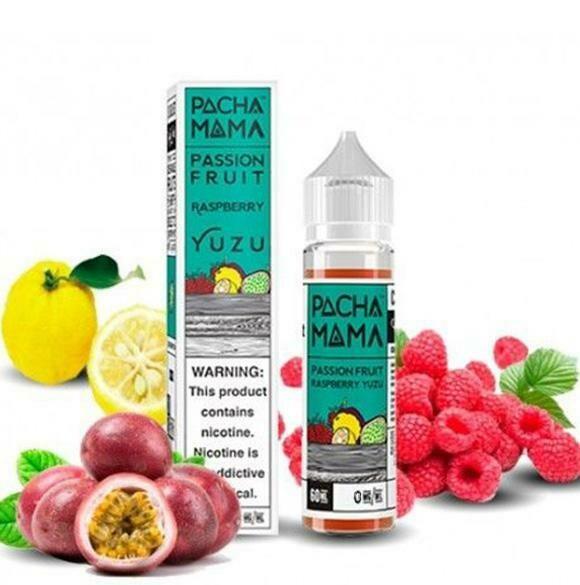 Pacha Mama Passion Fruit Raspberry Yuzu  0nic