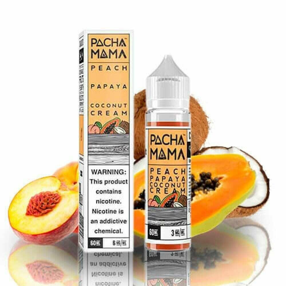 Pacha Mama Peach Papaya Coconut Cream 3nic