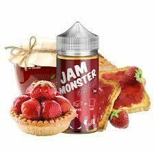 Jam Monster Strawberry 6nic