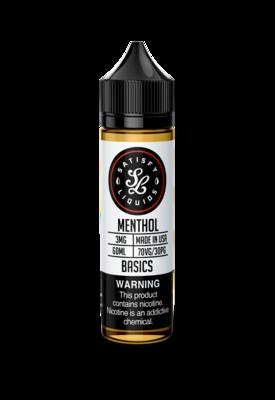Satisfy Liquids Menthol 12nic