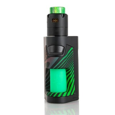 Vandy Vape 220w Squonker (Stripy Green)