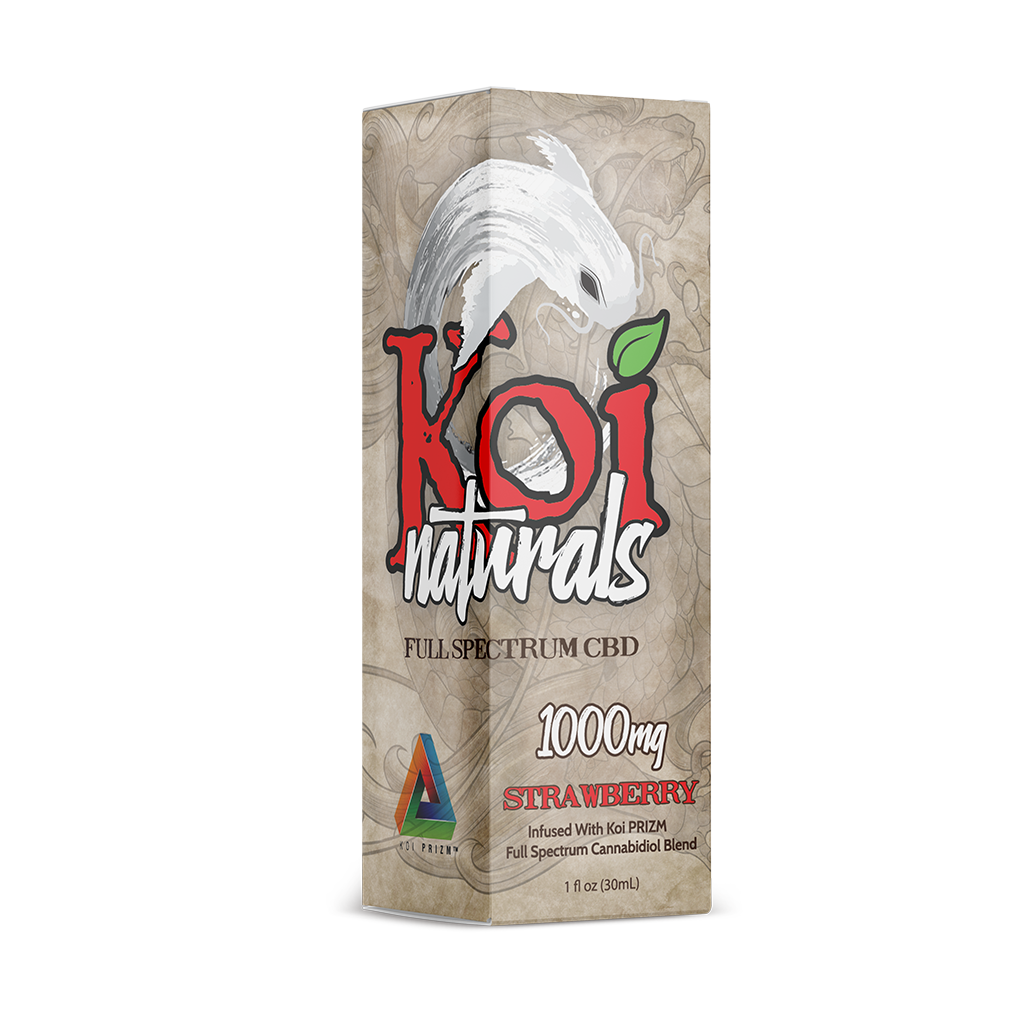 Koi Natural Strawberry 1000mg