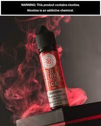 Satisfy Liquids Red Flake Ice 3nic