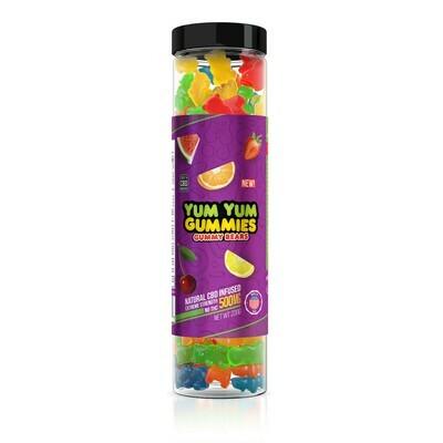 Yum Yum Gummy Bears (500mg)