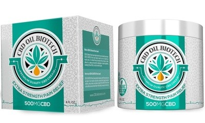 Bio Tech Cbd Cream (500mg)