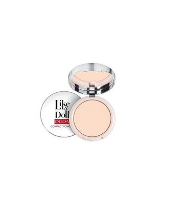 LIKE A DOLL - NUDE SKIN COMPACT POWDER NO. 1 PORCELAIN
