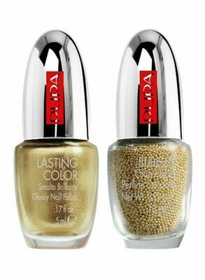 PUPA NAIL ART MANIA METALLIC BUBBLES NO. 1 GOLD