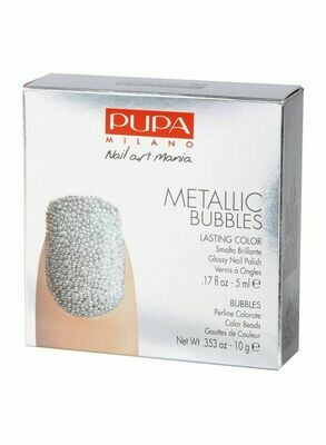 PUPA NAIL ART MANIA METALLIC BUBBLES NO. 2 SILVER