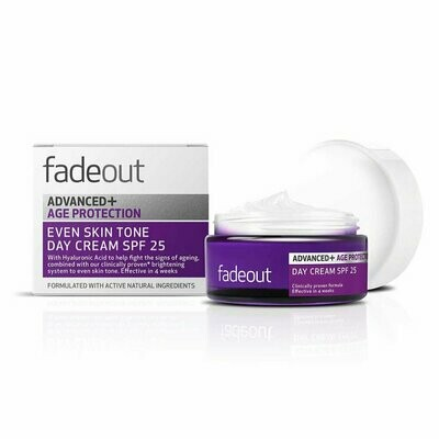 FADE OUT ADV.+ AGE PROTEC. WHIT. DAY CREAM 25SPF 50ML