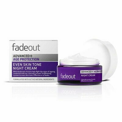 FADE OUT ADV.+ AGE PROTECTION WHIT. NIGHT CREAM 50ML