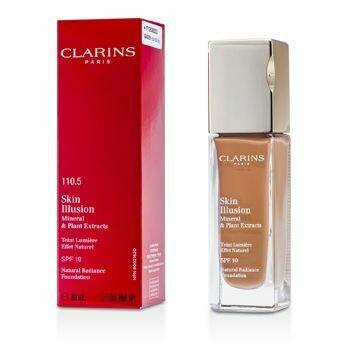 CLARINS SKIN ILLUSION FOUNDATION SPF 10 NO. 110,5- Almond