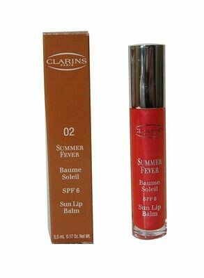 CLARINS MAKE-UP COLLECTION SUMMER FEVER SUN LIP BALM COL 2
