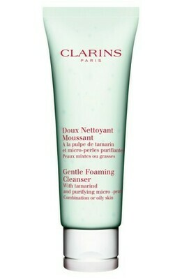 CLARINS GENTLE FOAMING CLEANSER COMB OR OILY 125 ML