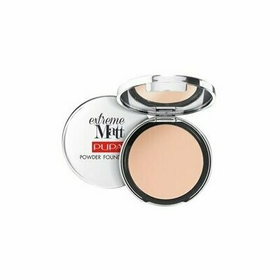 PUPA EXTREME MATT - POWDER FOUNDATION NO. 10 PORCELAIN