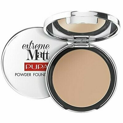 PUPA EXTREME MATT - POWDER FOUNDATION NO. 40 NATURAL BEIGE