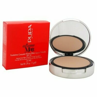 PUPA EXTREME MATT - POWDER FOUNDATION NO. 60 GOLDEN BEIGE